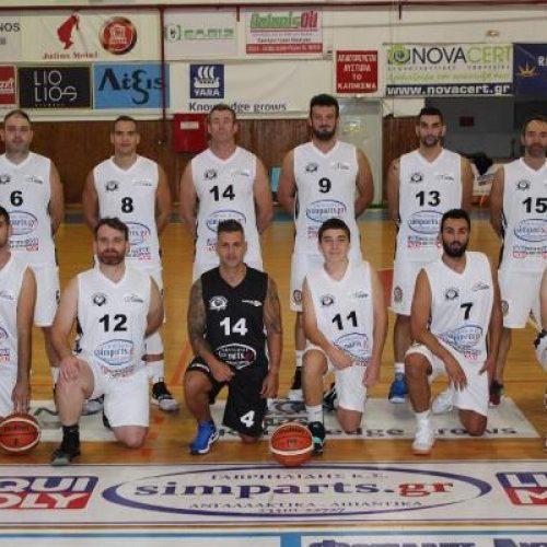 Μπάσκετ: Νίκη για τους Αετούς Βέροιας στην Κατερίνη