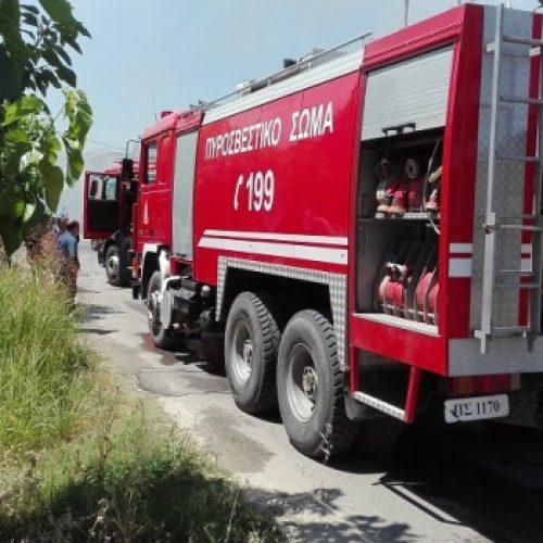Σε δεκάδες αγροτοδασικές πυρκαγιές στην Ημαθία παρενέβη η Πυροσβεστική