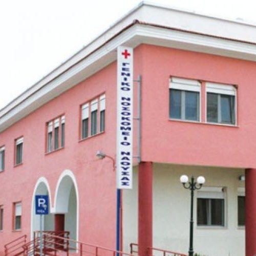 Η Φρόσω Καρασαρλίδου επισκέφθηκε  το Νοσοκομείο Νάουσας