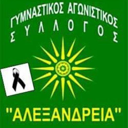 """Συλλυπητήρια ανακοίνωση του τμήματος Πετοσφαίρισης του ΓΑΣ """"Αλεξάνδρεια"""""""