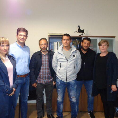 Συνάντηση του Αγροτικού Συλλόγου Ημαθίας με τον Υφ. Μεταναστευτικής Πολιτικής  Άγγελο Τόλκα