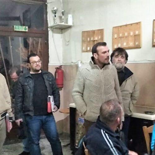 """Περιοδεία σε χωρία του Δήμου Αλεξάνδρειας από κλιμάκιο της """"Λαϊκής Συσπείρωσης"""""""