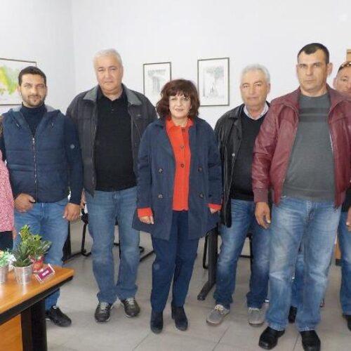 Επίσκεψη στον ΕΛΓΑ της Φρόσως Καρασαρλίδου