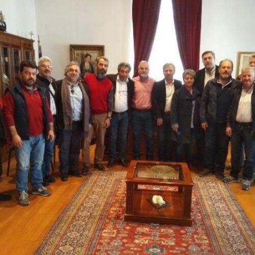 Συναντήσεις του   νέου Διοικητικού Συμβουλίου της Πανελλήνιας Ομοσπονδίας Εργαζομένων στις ΔΕΥΑ