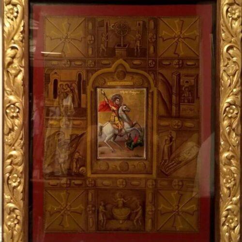 Η πρόσκληση και το πρόγραμμα της 1222ης πανηγυρικής εορτής του Αγ. Γεωργίου Περιστερεώτα  στο Ροδοχώρι Νάουσας