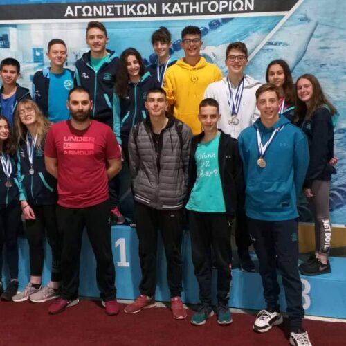 """Η αγωνιστική δράση  των  αθλητών   της Κολυμβητικής Ακαδημίας  """"Νάουσα"""""""