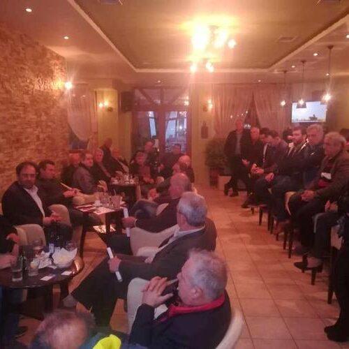 Κ. Βοργιαζίδης: Θα συνεχίσω να είμαι δίπλα σας και τη νέα τετραετία