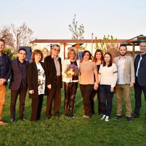 Επίσκεψη   Μαρέβας Μητσοτάκη στο Σπίτι της Βεργίνας