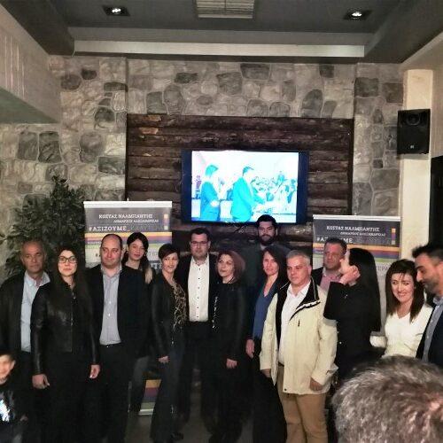 Ο Κώστας Ναλμπάντης ανακοίνωσε 15 νέους υποψηφίους