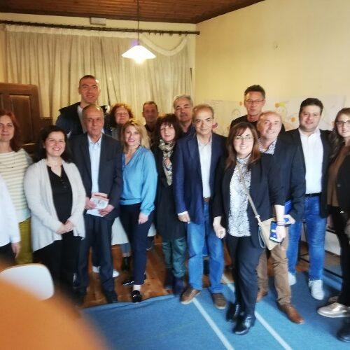 """Επίσκεψη υποψηφίων ευρωβουλευτών του """"Σύριζα - Προοδευτική Συμμαχία"""" στην Ημαθία"""