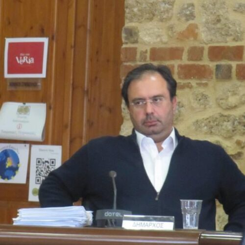 """Κώστας Βοργιαζίδης: """"Μπλοκάρονται αποφάσεις για έργα πριν από την ανάληψη της νέας Δημοτικής Αρχής"""""""