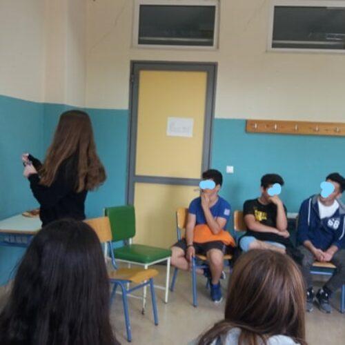 Βιωματικά εργαστήρια με  μαθητές του 6ου γυμνάσιου Βέροιας