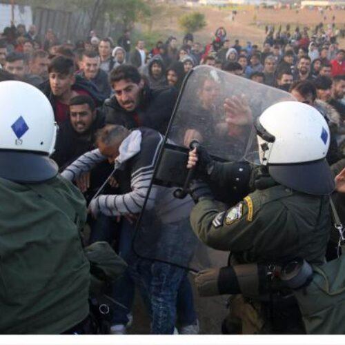 Σχόλιο του ΚΚΕ για τις διαμαρτυρίες των προσφύγων σε σταθμό Λαρίσης και Διαβατά
