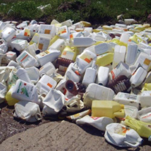 Συλλογή κενών συσκευασιών φυτοπροστατευτικών προϊόντων στο Δήμο Βέροιας
