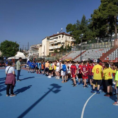 Με επιτυχία οι σχολικοί αγώνες ΑθλοΠΑΙΔΕΙΑΣ ΚαλαθοσφαίρισηςΔημοτικών Σχολείων περιοχής Βέροιας