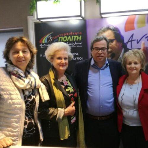 Συνάντηση Αντώνη Μαρκούλη με εκπροσώπους του Λυκείου των Ελληνίδων Βέροιας