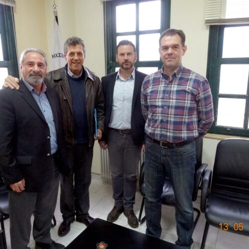 Συνάντηση Δ.Σ. ΛΕ.Κ. με υποψήφιους Δημάρχους Νάουσας