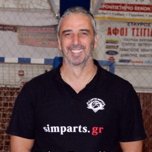 Μπάσκετ: Παραμένει ο Τυριακίδης στον πάγκο των Αετών Βέροιας