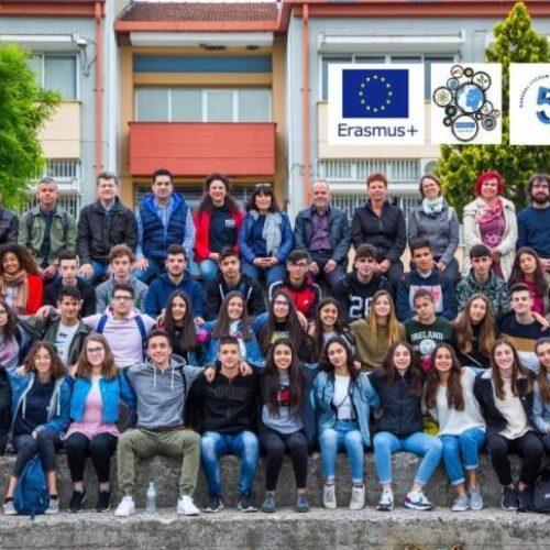 Ευρωπαϊκές σχολικές αποστολές στο 5ο ΓΕΛ Βέροιας στο πλαίσιο του προγράμματος Erasmus+