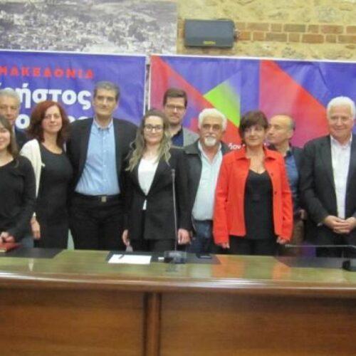 Παρουσιάστηκαν από τον Χρήστο Γιαννούλη οι υποψήφιοι του συνδυασμού του  για την Ημαθία