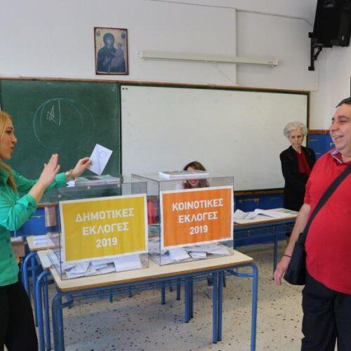 Εκλογές 2019: Ομαλά διεξάγεται η εκλογική διαδικασία στη Βέροια