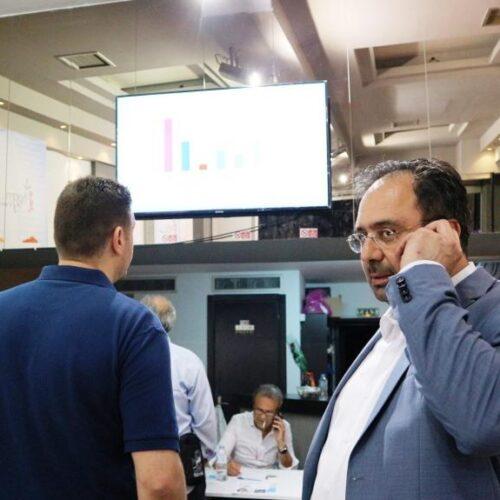 Πρώτος με διαφορά στη Βέροια ο Κώστας Βοργιαζίδης – Ατμόσφαιρα νίκης στο εκλογικό του κέντρο