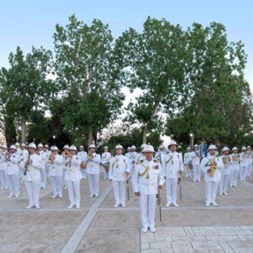 Η Μπάντα του Πολεμικού Ναυτικού στη Βέροια -  Για τα 100 χρόνια Μνήμης τηςΓενοκτονίας των Ελλήνων του Πόντου