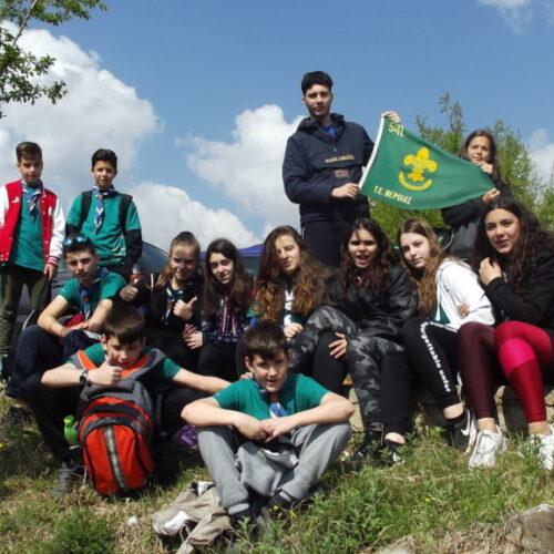 3ήμερη εκδρομή στην Κουμαριά Βέροιας της 5ης Ομάδας Προσκόπων
