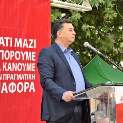 """Θωμάς Τσουκαλάς: """"Η νίκη της Λαϊκής Συσπείρωσης θα είναι νίκη του λαού"""""""