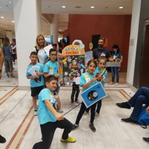 FLL junior Greece - Βραβεύτηκαν οι δυο ομάδες του 1ου  Δημοτικού Σχολείου Βέροιας