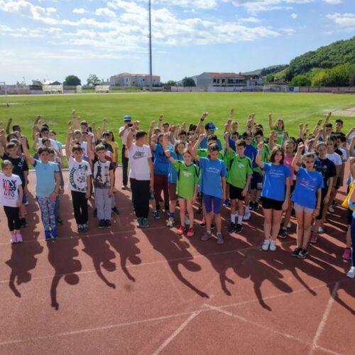Αποτελέσματα αγώνων στίβου των Δημοτικών Σχολείων του Δήμου Νάουσας