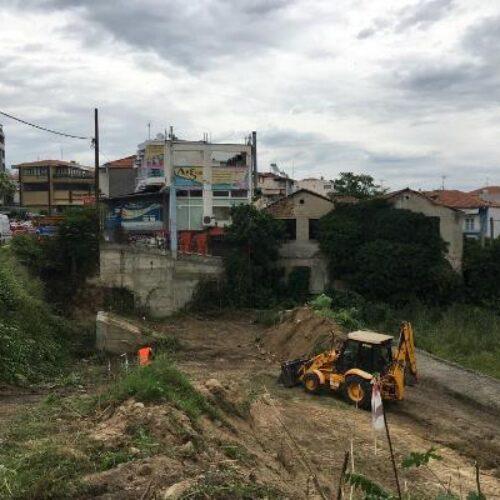 Ξεκίνησαν οι εργασίες διαπλάτυνσης της οδού Πιερίων  στη Βέροια