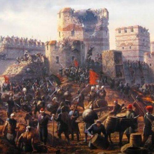 """""""Η άλωση της Κωνσταντινούπολης: Οι τελευταίες ώρες μιας Αυτοκρατορίας"""" γράφει ο Βενιζέλος Λεβεντογιάννης"""