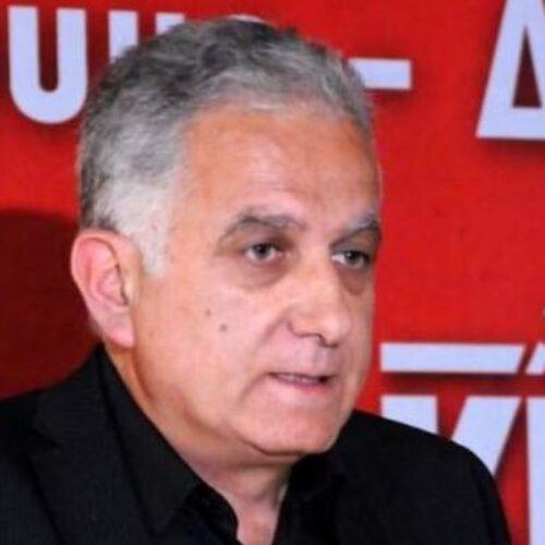 Περιοδεία στη Βέροια του υποψήφιου ευρωβουλευτή του ΚΚΕ Μιχάλη Μιχαήλ