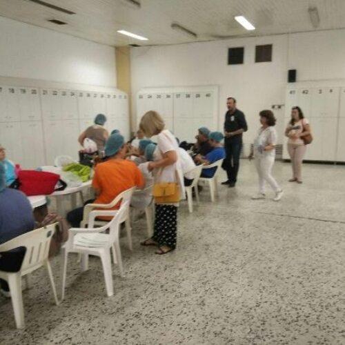 Επίσκεψη υποψήφιων βουλευτών του ΚΚΕ στο εργοστάσιο της ΑΛΜΜΕ και την Πυροσβεστική Βέροιας