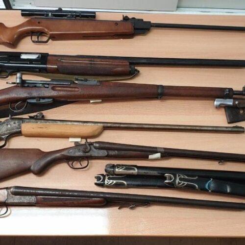 Συλλήψεις για παράβαση της νομοθεσίας περί ναρκωτικών και  όπλων