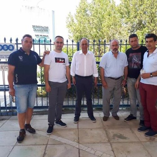 Συνάντηση βουλευτή Ημαθίας Χρήστου Αντωνίου με το σωματείο εργαζομένων της NESTLE