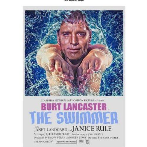 """Κινηματογραφική Λέσχη εργαζομένων ΕΡΤ3: Ο """"Κολυμβητής"""" του Φρανκ Πέρι με τον Μπαρτ Λανκάστερ"""