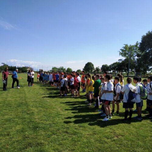 Σχολικοί αγώνες  ΑθλοΠΑΙΔΕΙΑΣ  Ποδοσφαίρου  Δημοτικών Σχολείων περιοχής Βέροιας