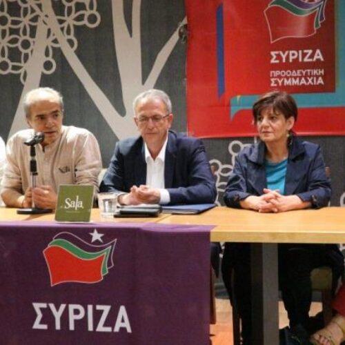"""Ο Πάνος Ρήγας στη Βέροια: """"Ο δημοκρατικός κόσμος πρέπει να δώσει τη μάχη, για να μη χαθούν όσα πετύχαμε"""""""