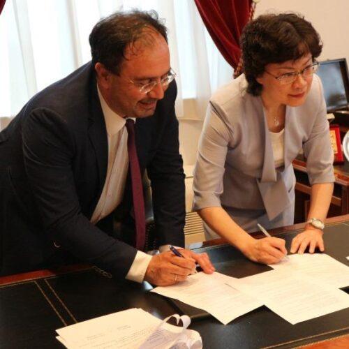 Υπεγράφη Σύμφωνο Συνεργασίας μεταξύ του Δήμου Βέροιας και του Δήμου Dongcheng της Κίνας