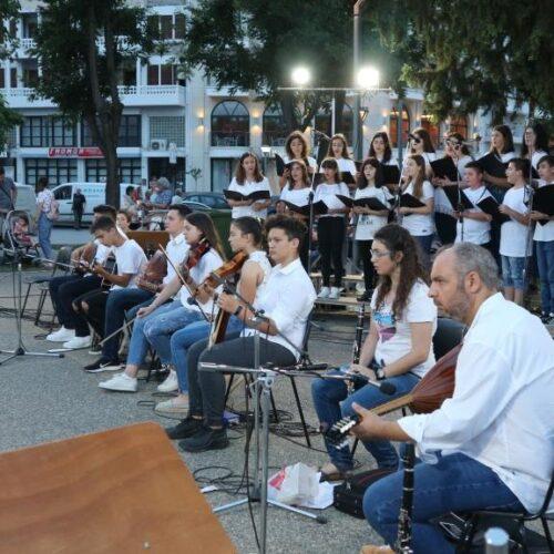 Με το Μουσικό Σχολείο Βέροιας και παραδοσιακή μουσική ξεκίνησε η Εύηχη Πόλη 2019