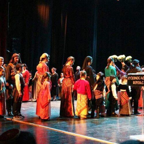 Συγκλονιστική η παράσταση - αφιέρωμα στη Γενοκτονία από την Εύξεινο Λέσχη Βέροιας