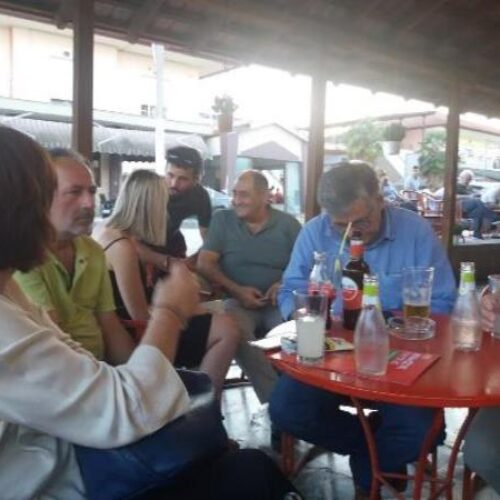Στον Άγιο Γεώργιο Βέροιας υποψήφιοι βουλευτές του ΣΥΡΙΖΑ - Προοδευτική Συμμαχία