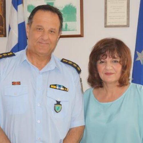 Στη Διεύθυνση Αστυνομίας Ημαθίας η Φρόσω Καρασαρλίδου