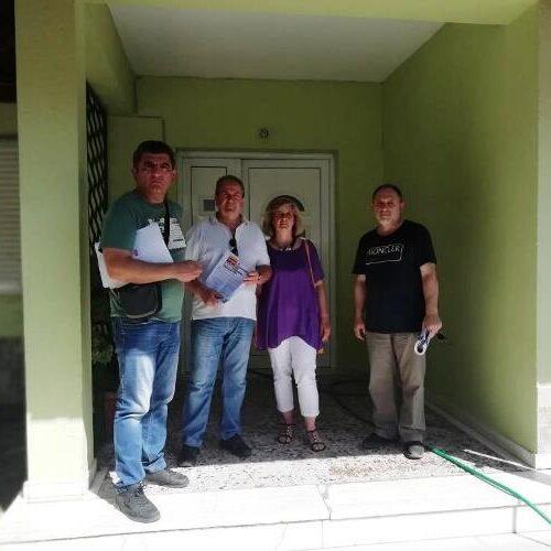 Επίσκεψη κλιμακίουτου ΚΚΕ στους παιδικούς σταθμούς του Δήμου Βέροιας