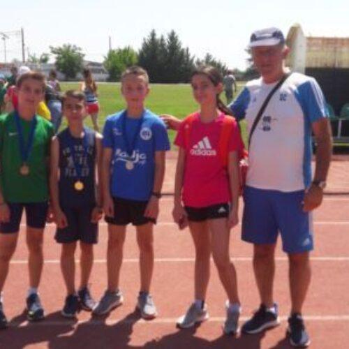Πέντε μετάλλια οι μικροί βεροιώτες στους αγώνες φιλίας στρίβου στην Αλεξάνδρεια