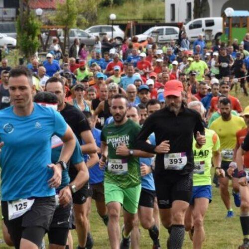 Μεγάλη επιτυχία σημείωσε ο 9ος  αγώνας ορεινού τρεξίματος Ξηρολιβάδου - Τα αποτελέσματα