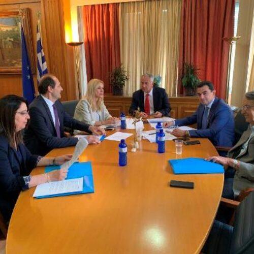 Στον Υπουργό Αγροτικής Ανάπτυξης ο Απ. Βεσυρόπουλος για τις καταστροφές στις καλλιέργειες της Ημαθίας