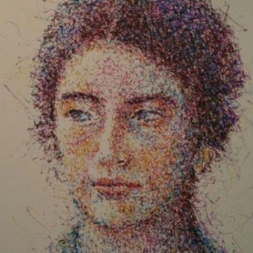 """""""Μεταξύ Σημείου και Γραμμής"""". Εγκαίνια έκθεσης Γλύκας Διονυσοπούλου στο Βυζαντινό  Μουσείο Βεροίας"""